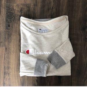 Champion Sweatshirt Sweater Top Long Sleeve NEW